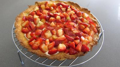 Ricotta aux fraises en tarte - 6.2