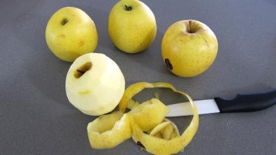 Boudins aux pommes et ananas à la purée de framboises Vitabio - 4.1