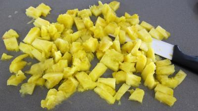 Boudins aux pommes et ananas à la purée de framboises Vitabio - 5.1