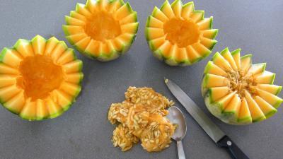 Cocktails perles de melon au porto - 2.2