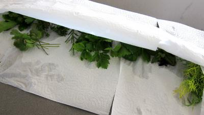 Fines herbes et légumes en velouté - 1.1