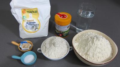 Ingrédients pour la recette : Pain paysan