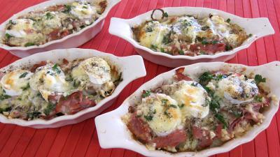 Escalopes de veau gratinées aux fromages - 11.4