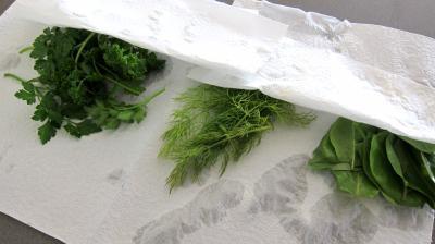Limandes et sa salade de pousses de bambou et graines germées - 2.1