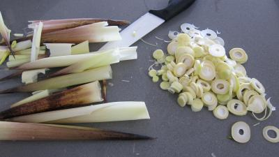 Limandes et sa salade de pousses de bambou et graines germées - 4.1
