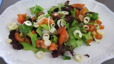 Limandes et sa salade de pousses de bambou et graines germées - 4.3
