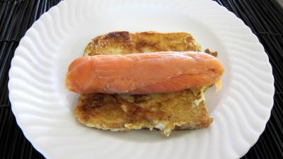 Roulades de saumon fumé et sa salade - 6.2
