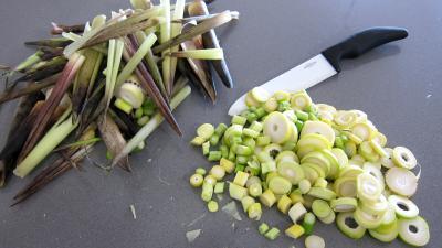 Germes de soja et pousses de bambou au gingembre - 4.1