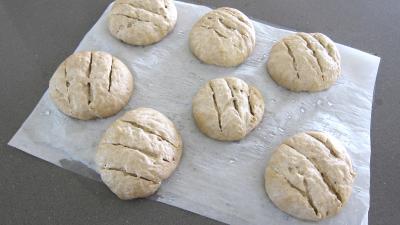 Boules de pains au levain à l'ancienne - 7.2