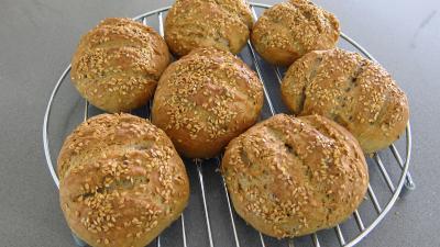 Boules de pains au levain à l'ancienne - 8.2