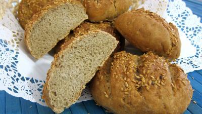 Boules de pains au levain à l'ancienne - 8.4