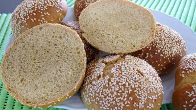 Recette Hamburgers (pains)