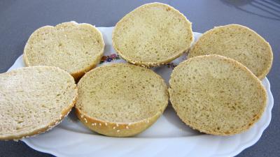 Hamburgers au cabillaud et aux asperges - 9.3