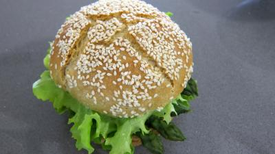 Hamburgers au cabillaud et aux asperges - 11.1