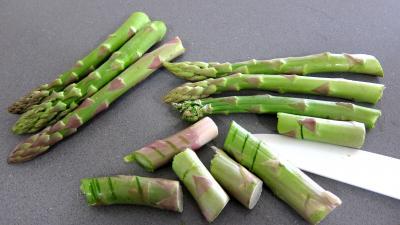 Pans bagnats aux asperges revisités - 1.3