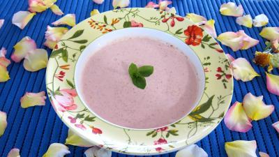 Recette Ananas à la plancha et sa sauce aux fraises