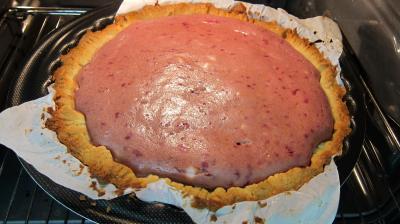 Tarte au fromage nature avec fraises et framboises - 6.1