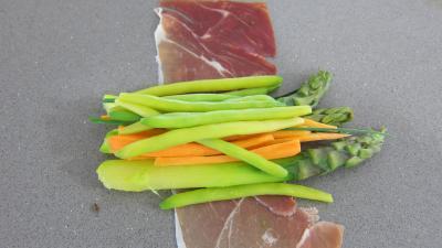 Ballotins d'asperges, d'haricots beurre et carottes - 5.3