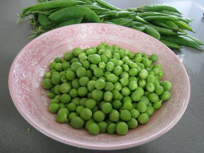 Frittata aux pommes de terre et petits pois - 1.1
