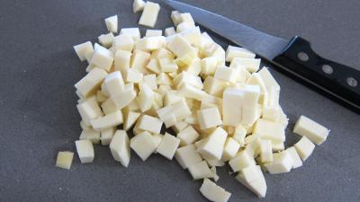 Frittata aux pommes de terre et petits pois - 1.3