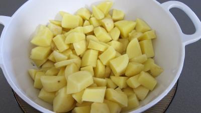 Frittata aux pommes de terre et petits pois - 3.4