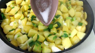 Frittata aux pommes de terre et petits pois - 5.2