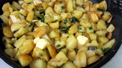 Frittata aux pommes de terre et petits pois - 5.4