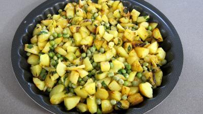 Frittata aux pommes de terre et petits pois - 7.1