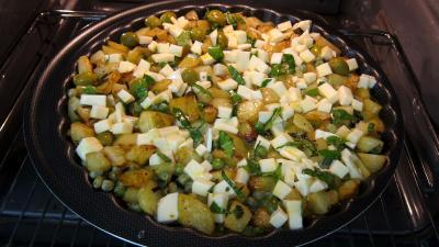 Frittata aux pommes de terre et petits pois - 8.3