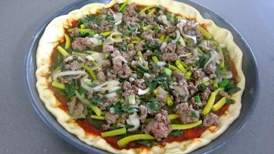 Pizza à l'oseille et aux haricots beurre - 9.4