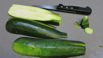 Crme de courgette en amuse-bouche - 4.3