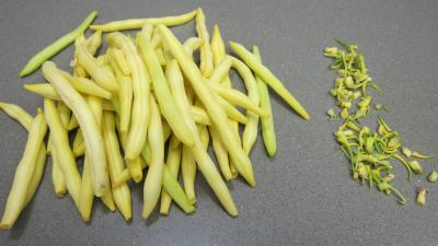 Pâtes spaghettis aux haricots beurre - 2.1