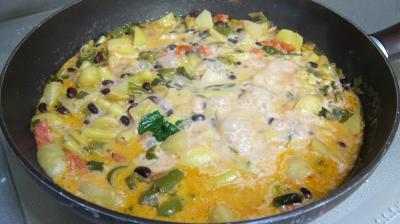 Recette Blanquette de légumes