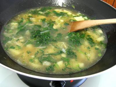 Soupe de dinde aux épis de maïs façon Chinoise - 7.2
