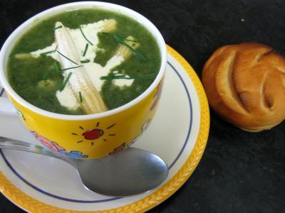 Soupe de dinde aux épis de maïs façon Chinoise - 9.3