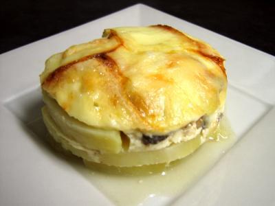 Image : Portion de pomme de terre à la raclette