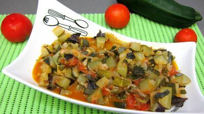 Image : Saladier d'artichauts en ratatouille