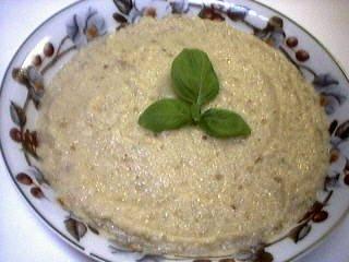 Recette Assiette de caviar d'aubergine
