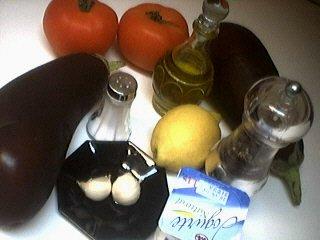 Ingrédients pour la recette : Caviar d'aubergines