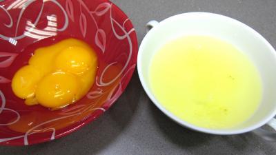 Crème glacée aux prunes jaunes - 1.1