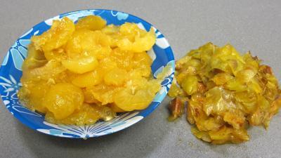 Crème glacée aux prunes jaunes - 1.3