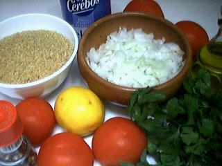 Ingrédients pour la recette : Taboulé de Danièle