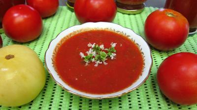 sauce pour gratins : Coupelle de sauce tomates et ses conserves