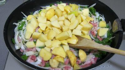 Pommes de terre à la sauce blanche - 3.4