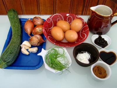 Ingrédients pour la recette : Oeufs façon thaïlandaise