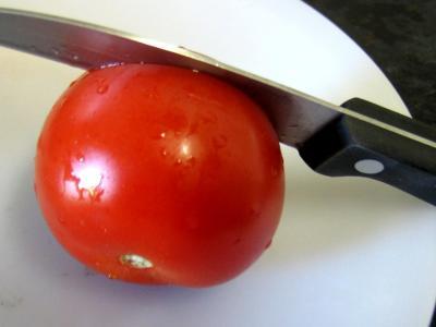 Tomates farcies au jambon - 2.1