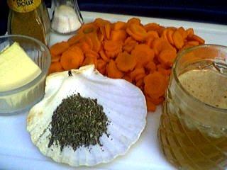 Ingrédients pour la recette : Carottes aux épices