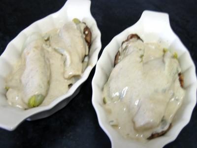 Escalopes de veau aux endives et mozzarella - 9.2