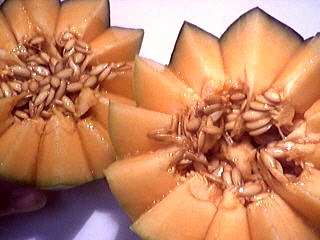 Salade de melon aux graines de ssame - 3.1