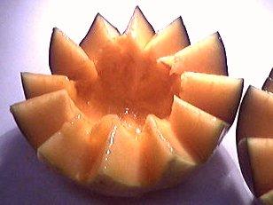 Salade de melon aux graines de sésame - 3.3
